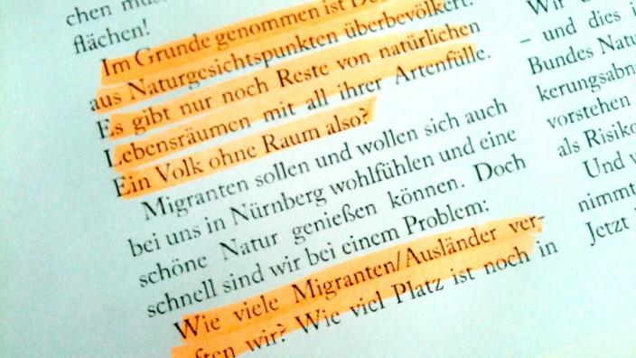 "Auszug aus Günther Raß' Vorwort im ""Mauersegler""."
