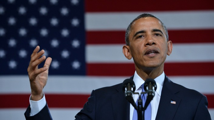 US-Präsident Barack Obama Waffenrecht
