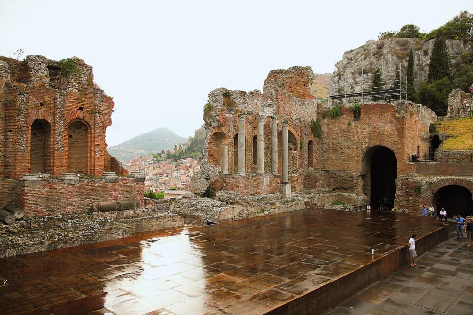 Taormina und das Teatro Greco Sizilien Eine perfekte Woche ...