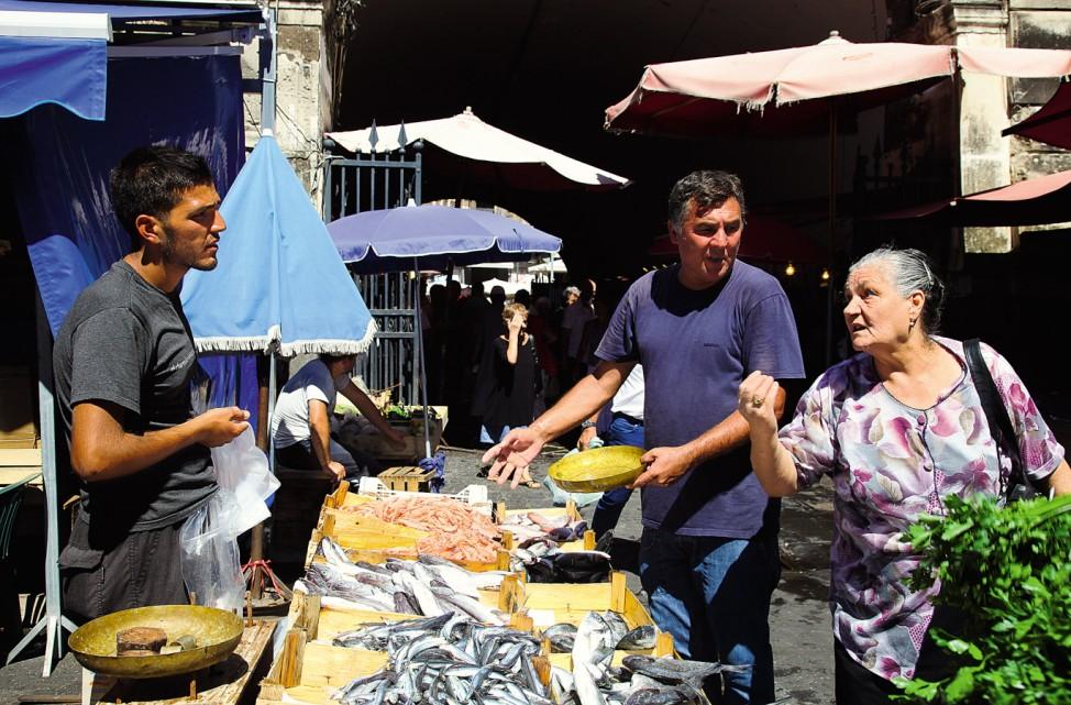 """Catania """"Eine perfekte Woche ..."""" Sizilien Fischmarkt"""