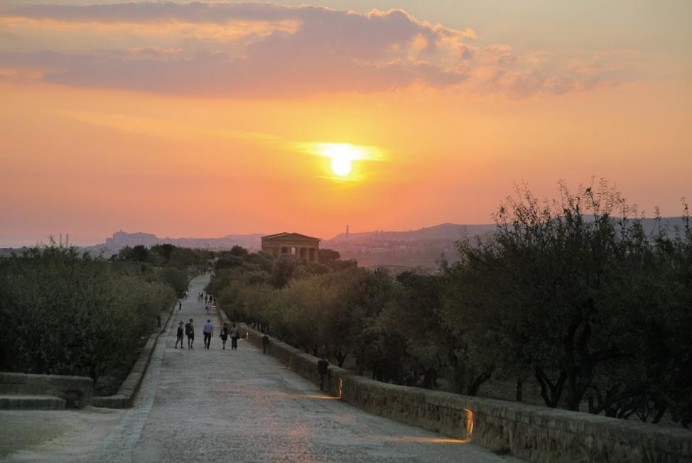 """Tal der Tempel """"Eine perfekte Woche ..."""" Sizilien"""