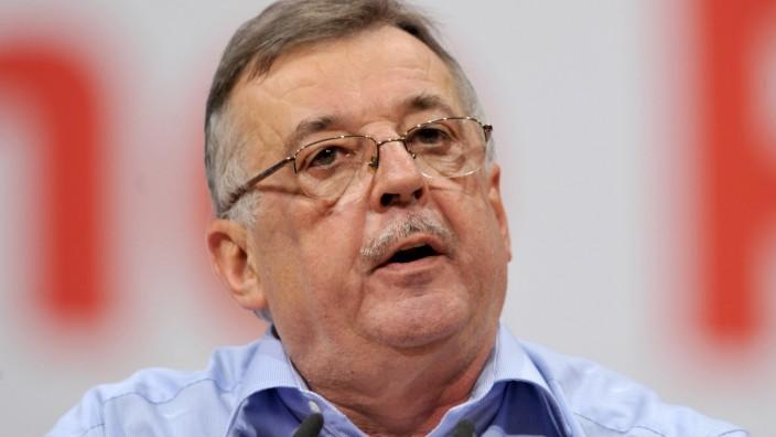SPD-Politiker Ottmar Schreiner im Alter von 67 Jahren an Krebs gestorben