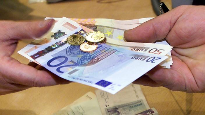 Deutsche finden den Euro gut
