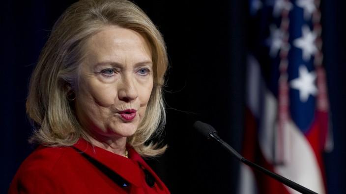 Hillary Clinton gilt als mögliche Präsidentschaftskandidatin 2016