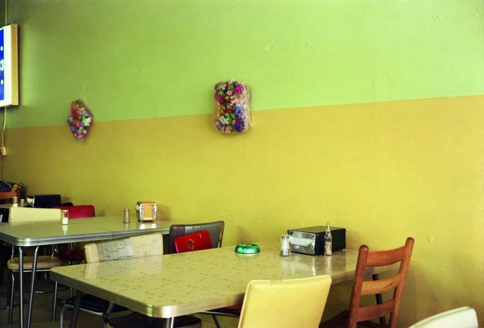 Café in Geld William Eggleston