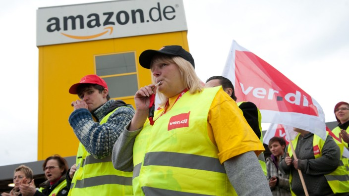 Warnstreik bei Amazon Bad Hersfeld
