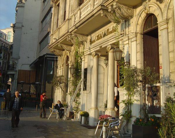 Büyük Londra Oteli Spotted by locals Hotel Istanbul