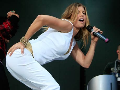 Fergie, Black Eyed Peas, Getty Images