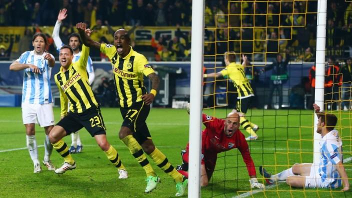 Borussia Dortmund v Malaga - UEFA Champions League Quarter Final Felipe Santana