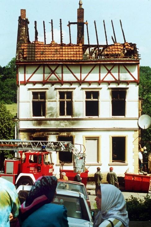 60 Jahre Bundesrepublik - Brandanschlag Solingen