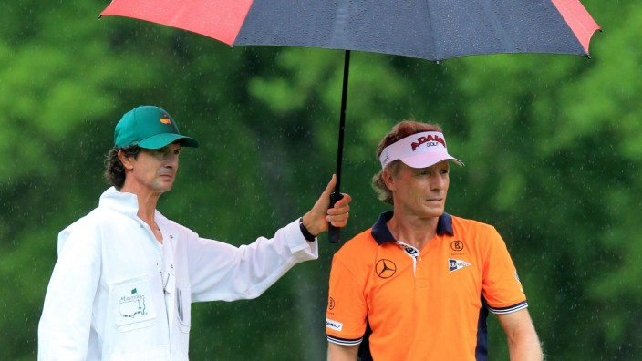 US Masters Golf Bernhard Langer