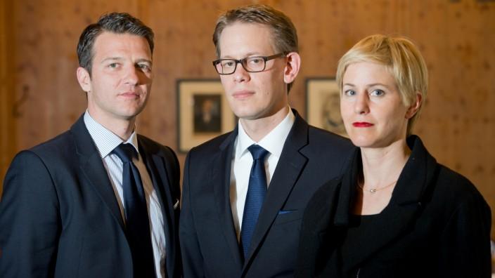 Rechtsanwälte im NSU-Prozess: Stahl, Heer, Sturm