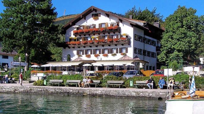 Das Seehotel zur Post am Tegernsee.