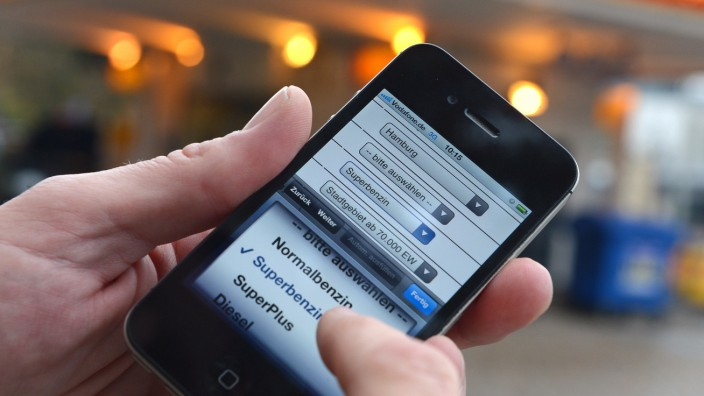Smartphone Handy Betriebssystem Software App