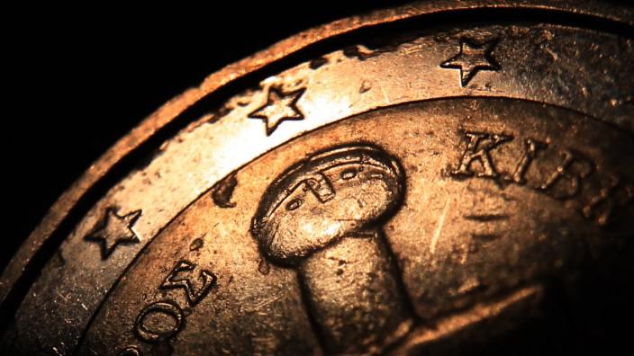 Zypriotische Zwei-Euro Münze