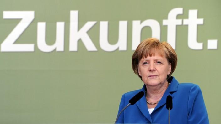 Bundeskanzlerin Angela Merkel CDU