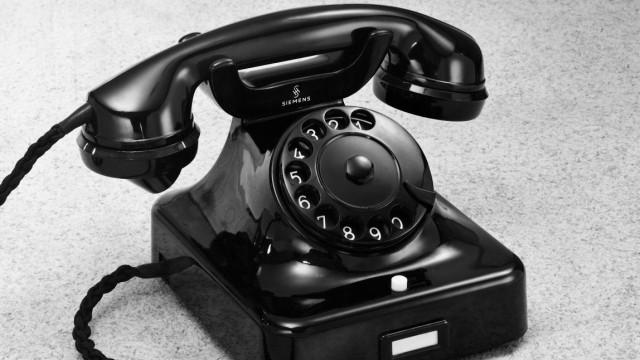 Telefon der Firma Siemens & Halske, 1940