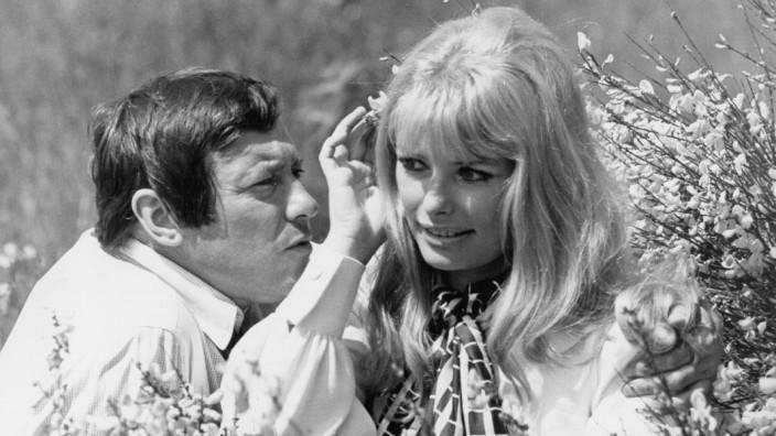 Dietmar Schönherr und Vivi Bach, 1969