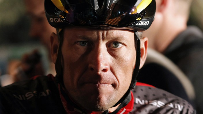 File photo of Lance Armstrong in Cape Town