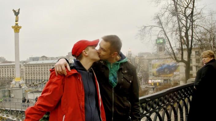 Homo-Ehe Homosexuelle Ukraine