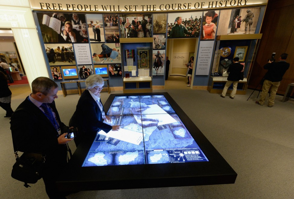 George W. Bush Presidential Library Prepares For Official Dedication Ceremony