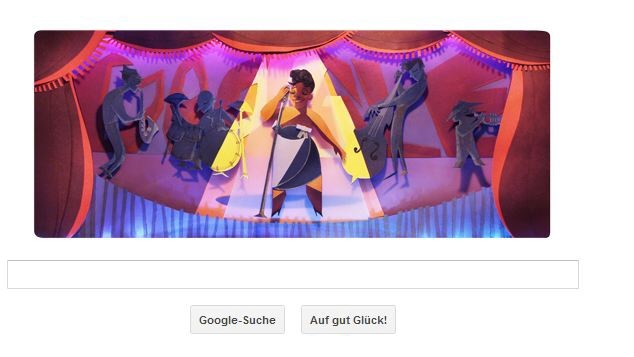 Ella Fitzgerald, Google Doodle, Google