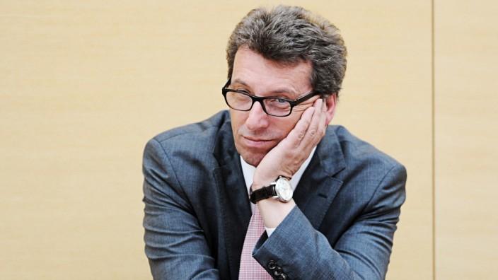 Georg Schmid CSU, Ex-Fraktionschef