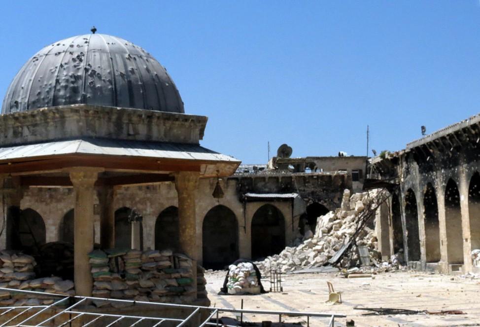 Umayyad Moschee in Aleppo, Syrien