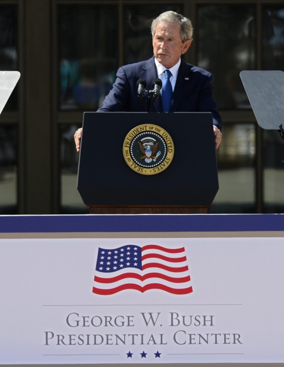 Opening Ceremony for the George W. Bush Presidential Library in D