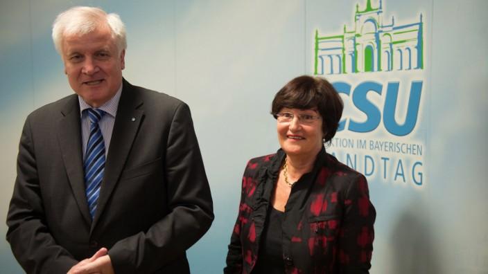 Christa Stewens, CSU, Fraktionschefin