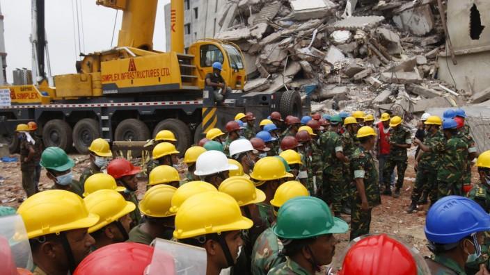 Rettungsaktion Bangladesch