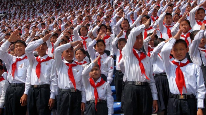 N. Korea marks 66th anniversary of children's union