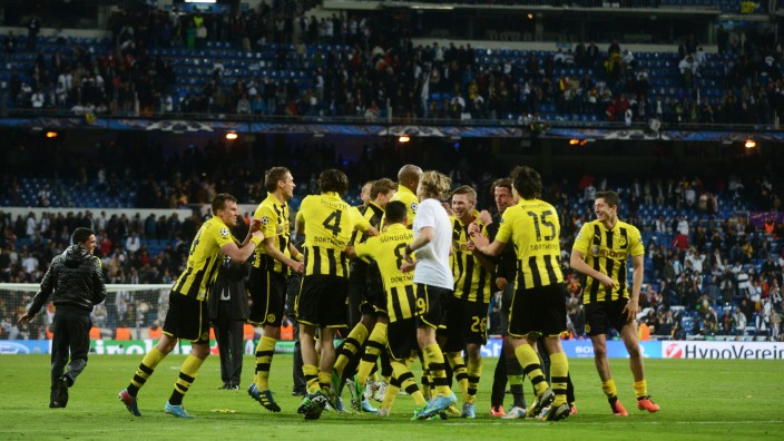 Borussia Dortmund Champions League Finale 25. Mai Real Madrid BVB