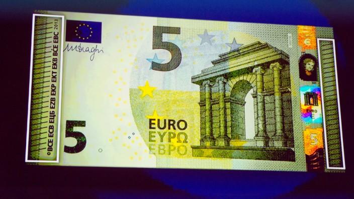Neue 5-Euro-Banknote