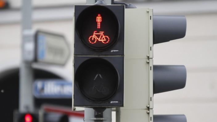 Rote Ampel, Verkehr München