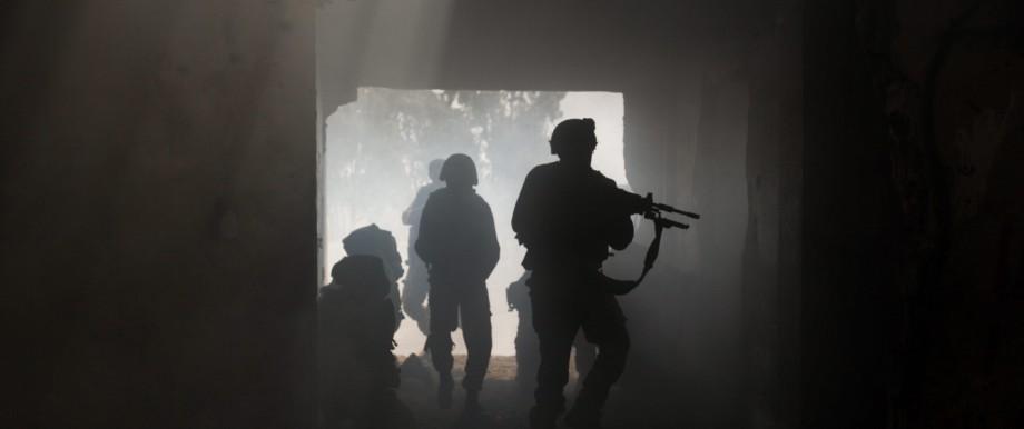 Israel, Soldaten, Golan, Syrien, Luftangriffe