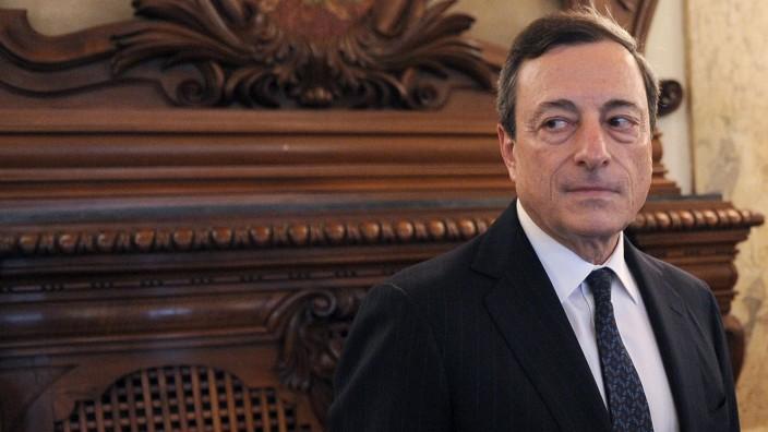 Mario Draghi: Präsident der Europäischen Zentralbank