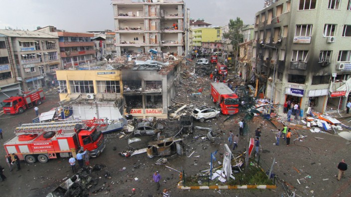 Autobomben in Reyhanli