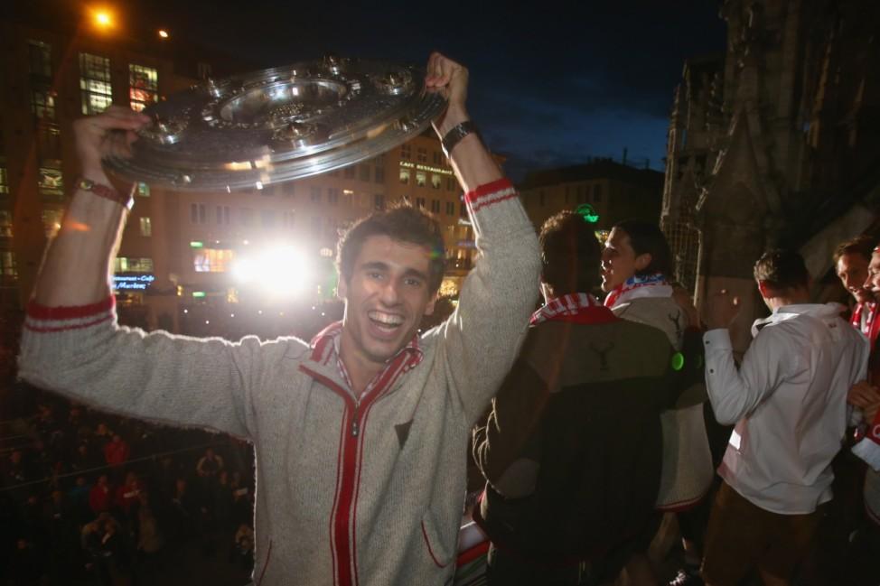 FC Bayern Muenchen - German Championship Celebrations