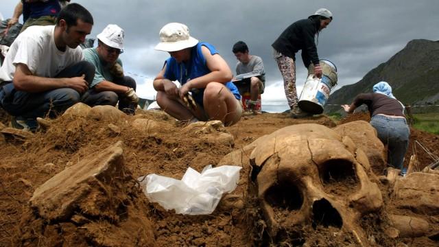 Massengrab aus dem Spanischen Bürgerkrieg entdeckt