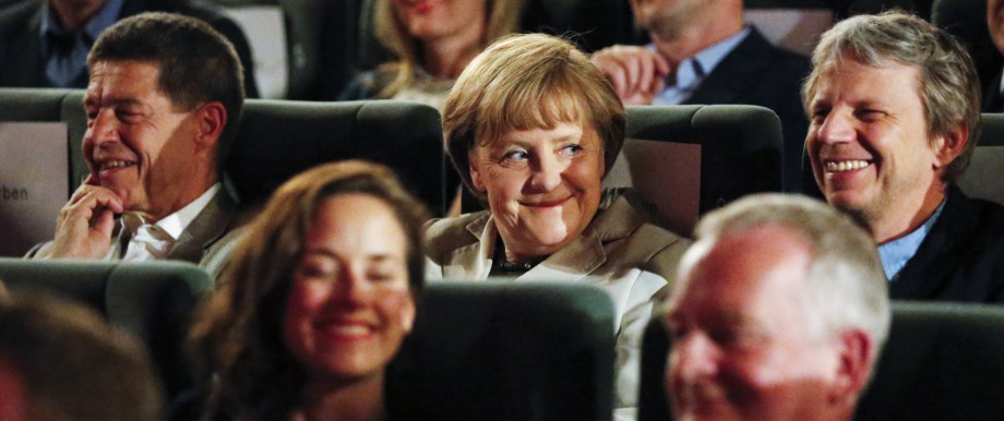 Angela Merkel, Kino