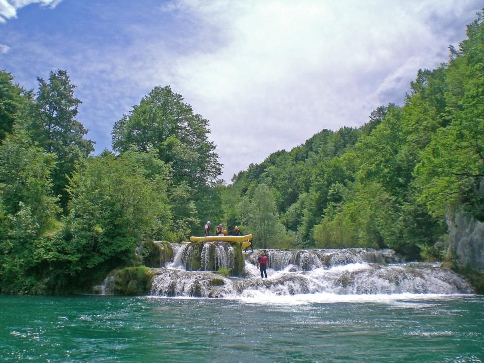 Kroatien Hinterland Plitvicer Seen Karlovac
