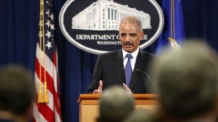 Skandal um AP-Überwachung: US-Justizminister Eric Holder