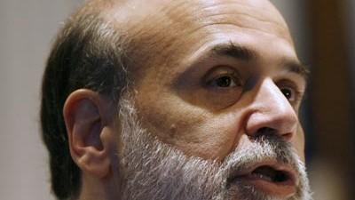"""US-Geldpolitik: US-Notenbankchef Ben Bernanke: """"Wenn die wirtschaftliche Erholung in Gang kommt, werden wir die Geldpolitik straffen müssen, um das Entstehen von Inflationsgefahren zu vermeiden."""""""