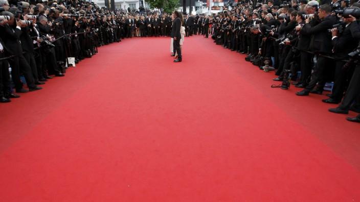 der rote Teppich von Cannes