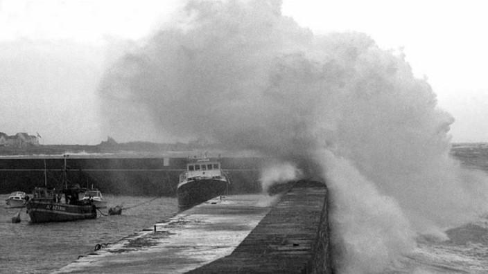 Sturm an der Bretagneküste, 1998