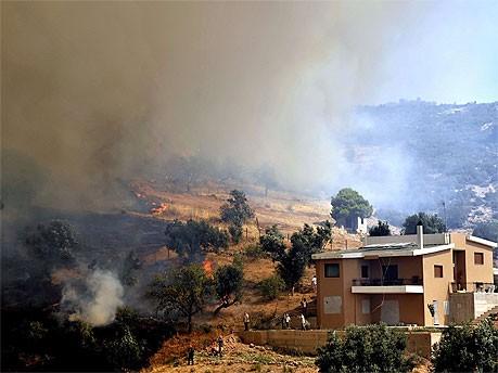 Waldbrand nördlich von Athen; AFP