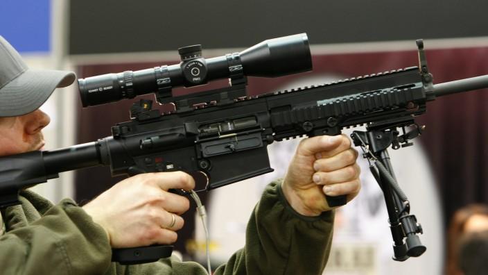 Waffenmesse IWA 2009 - Gewehr