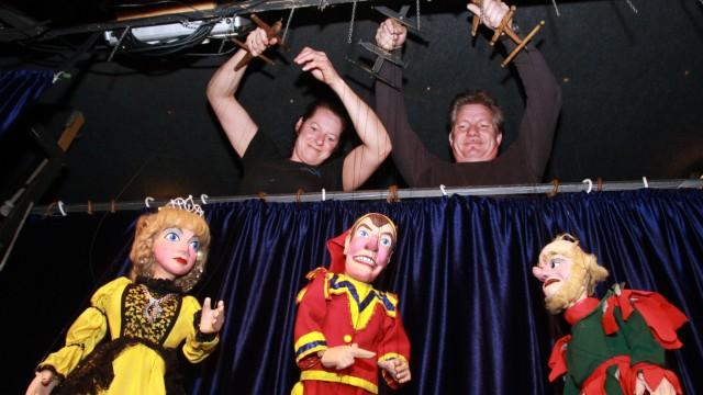 Puppentheater von Simon und Tanja Maatz