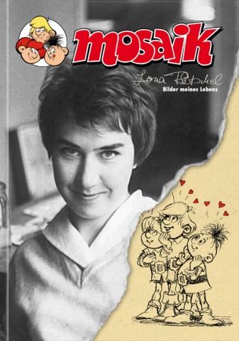 Titelseite eines Albums über die Comiczeichnerin Lona Rietschel.